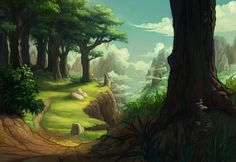 winding path by DawnElaineDarkwood.deviantart.com on @deviantART