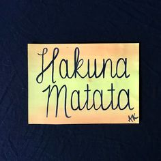 Excited to share this item from my #etsy shop: hakuna matata, disney sign, disney painting, lion king quote, lion king sign, hakuna matata sign, timon and pumba, simba quote, simba sign Lion King Quotes, Disney Sign, Disney Paintings, Cat Signs, Cat Quotes, Inspirational Wall Art, Hakuna Matata, Mom Humor, Kids Decor