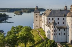 Läckö Castle is a medieval castle located on the shores of Lake Vänern, the largest lake in Sweden. Photo by Per Pixel Petersson