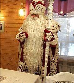 Дед мороз из салата
