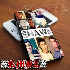 Shawn Mendes Collage - iPhone 4/4s/5/5s/5c - Samsung Galaxy s2/s3/s4/s5 - iPod 2/4/5 - Black/White by XRMBLX, $15.10 on Etsy