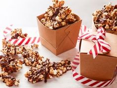 Chocolate Caramel Popcorn Bark with Bacon, Pecans and Chili : Recipes : Cooking Channel