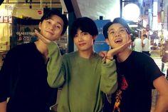 They've worked hard * Wooga - Wooga *Wooga- Wooga is the name of his circle friends:: Taehyung, Park Seo- joon, Park Hyung-sik, Coi Woo-shik and Peakboy Jhope, Kim Namjoon, Kim Taehyung, Bts Bangtan Boy, Bts Jin, Suga Suga, Park Hyung Sik, Jung Kook, Rap Monster