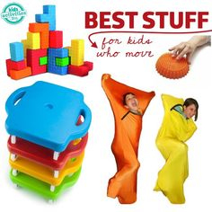 The best products for kids who cant stop moving - Pinned by Total Education Solutions. Check out the rest of our Therapy and School Resources pins @ pinterest.com/totaleducation/