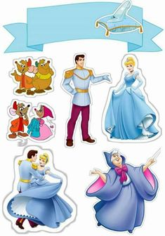 How to print the top of paper cake? Print on paper weighing to as the Cake Top becomes firmer. Disney Princess Birthday, Cinderella Birthday, Cinderella Crafts, Cinderella Mice, Scrapbook Da Disney, Art Disney, Paper Cake, Lol Dolls, Birthday Cake Toppers