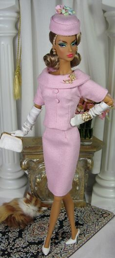 First Lady Pink For Victorie Roux and Silkstone Barbie on Etsy now