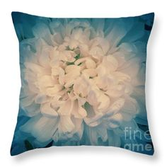 Starry Flower Throw Pillow by Joan-Violet Stretch