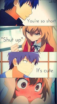 Anime:Toradora A very funny&romantic anime Anime Meme, Sad Anime, I Love Anime, Otaku Anime, Manga Anime, Manga Quotes, Anime Qoutes, Tsundere, Anime Comics