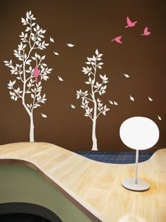 Art Wall Decals Wall Sticker Tree Decal  Trees with by NouWall, $65.00