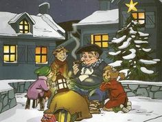 Olentzero is a character who brings presents on Christmas day in the Basque Country and Navarra