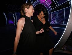 Com Ellen Pompeo   (The 33rd Annual People's Choice Awards )