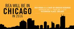 BEA will be in Chicago in 2016