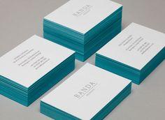 Banda Designed by & SMITH - Business Card Design Inspiration | Card Nerd