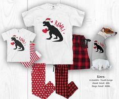 Jurassic World 2 T-rex Vs Baryonyx Dinosaur Long Pyjamas Boys Girls NEW
