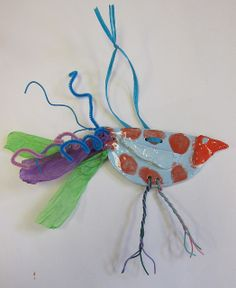 2nd grade clay birds by elizabeth williams, via Flickr