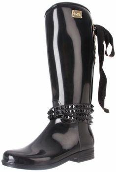 Fetish alina rain boots mine