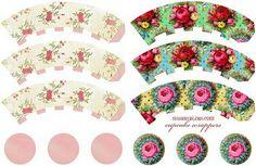 Valentine Love - Tons of Freebie Goodies Party Printables, Free Printables, Decoupage, Turtle Cookies, Paper Crafts, Diy Crafts, Cupcake Wrappers, Cupcakes, Printable Paper