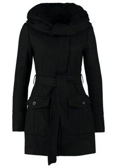 Wollen jassen Even&Odd Korte jas - black Zwart: € 69,95 Bij Zalando (op 16-12-14). Gratis bezorging & retournering, snelle levering en veilig betalen!