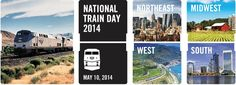 Tomorrow is #NationalTrainDay, May 10, 2014!