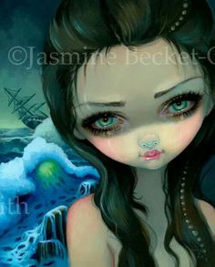Shipwreck Siren by Jasmine Becket-Griffith