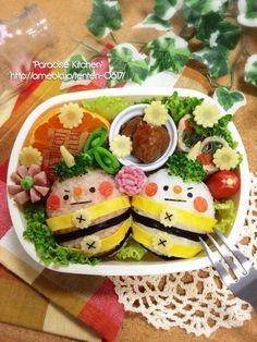 {19EEA513-5F12-4B9D-907D-5DF28553145C:01} Food Art For Kids, Food To Go, Bento Box Lunch, Food Humor, Cute Food, Japanese Food, Fruit Salad, Appetizers, Meals