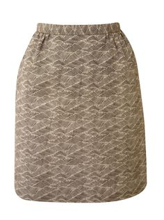Ladylike pencil skirt. Hemp and Organic Cotton. Local designer, Jackie Flanagan, of Nana boutique. Nanadc.com