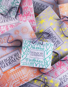 Limited Edition Bergdorf Goodman Shopping Bags