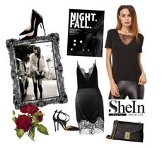 """""""Untitled #60"""" by melissavillalobos214 on Polyvore featuring Givenchy, Gianvito Rossi and Calvin Klein"""