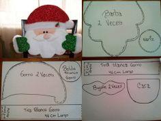Santa Christmas Chair, Christmas Yard Art, Christmas Poinsettia, Rustic Christmas, Christmas Projects, Christmas 2019, Christmas Diy, Christmas Decorations, Christmas Ornaments
