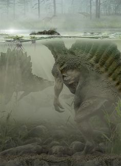 Art illustration - { Prehistoric Animals }
