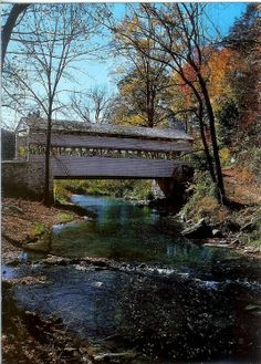 I would love to see this Covered Bridge in Knoxville, Tennessee. This is my #microcation.