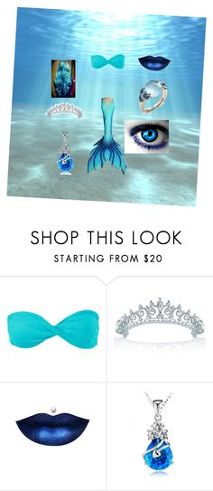 """""""Untitled #167"""" by angle12345 ❤ liked on Polyvore featuring Volcom, bleu, Bling Jewelry and Pomellato"""