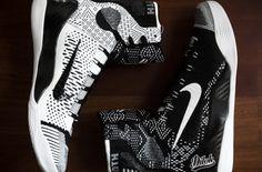 "Possible ""Black History Month"" Nike Kobe 9 Elite – Black / White"