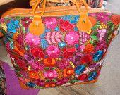 Guatemalan hand embroidered bag!