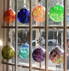 no fair I decorate with Christmas ornaments all year too...Window Treatment by George_Adkins, via Flickr