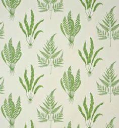 Sanderson Woodland Ferns Fabric