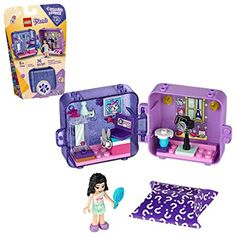 LEGO Friends Emma's Play Cube 41404 Building Kit, Includes Collectible Mini-Doll for Imaginative Play, New 2020 Pieces) Mini Studio Photo, Cubes, Play Cube, Construction Lego, Lego Friends Sets, Lego Toys, Buy Lego, Lego Projects, Led Licht
