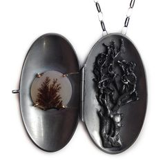 I know the sea won't be calm for long by Shauna Mayben - jeweller - Tasmanian artist