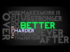 Daft Punk - Harder Better Faster Stronger (My Version Of Lyrics Unofficial) Motivational Music, Inspirational Quotes, Daft Punk, Motivate Yourself, Music Lyrics, Good Mood, Strong, Positivity, In This Moment