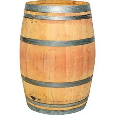 Real Wood Products Natural Wood Rain Barrel with at Lowe's. Constructed of solid white American or French oak and freshly emptied. Average capacity is This barrel includes reinforced hoops and Planter Table, Planters, Whiskey Barrel Table, Whiskey Barrels, Garden Yard Ideas, French Oak, Woodworking Crafts, Woodworking Workbench, Woodworking Images
