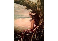 """""""Island Beauty"""" Original Painting by Lani Walling $450.00"""