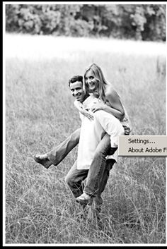 engagement pic  I'm thinking fun....formal too is great.... But let's make sure we have fun fun fun!!
