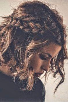 easy hair side braids