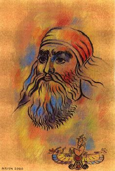 """Zoroaster (""""ZOR-oh-AS-ter""""). Also Zarathustra; A Persian (Iranian) mystic sage, prophet and religious poet who at the age of thirty, had a vision during a water purification ceremony. A Yazata lead him into the presence of Ahura Mazda, during which he asked a series of questions. After consecutive visions, these dialogues formed the foundation of Zoroastrian, also known as Parsiism or Parsi in India."""