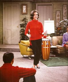 The Dick Van Dyke Show.....Mary Tyler Moore....a.k.a. Laura Petrie. She is so pretty.