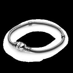 PANDORA | Oxidized Sterling Silver Barrel Clasp