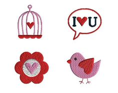 These are mini embroidery designs filled stitch camping for machine embroidery…