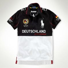 Polo Ralph Lauren Mens Custom Fit RL Racing Polo Germany this in a nothing  clothing I like to buy. They use bandwagon.