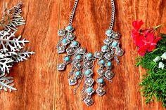 #boho #style #necklace #jewellery #bohemian #turquoise #fashion #hippiechic #bohochic