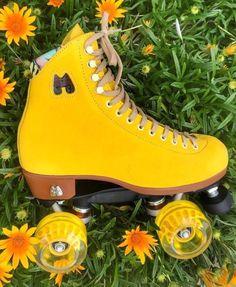 Moxi Roller Skates in Pineapple
